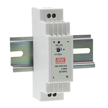 DR 15 450x450 - منبع تغذیه DR-15-15 - din-rail, meanwell, dr -