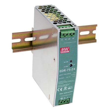 EDR 75 A 450x450 - منبع تغذیه EDR-75-48 - din-rail, meanwell, edr -