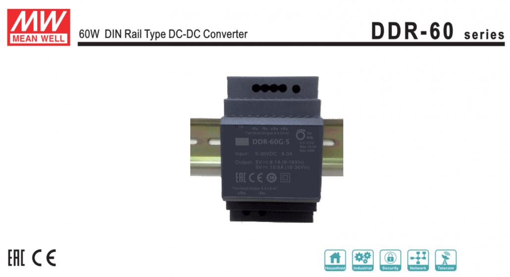 DDR600 1030x561 - تولید منبع تغذیه DC/DC ریلی DDR-60 - meanwellnotes, meanwell-news, news - مینول, مین ول, منبع تغذیه مین ول, منبع تغدیه سوییچینگ, مدار اصلاح ضریب توان, قیمت منبع تغذیه, ضریب توان, ترانسفورماتور, ترانزیستور, تداخل الکترومغناطیسی, تجهیزات الکترونیکی, پاور مین ول, پاور, بار خروجی, ایمنی, استانداردهای ایمنی, استاندارد, اتصال کوتاه, SD-50C-5, SD-50C-24, SD-50C-12, SD-50B-48, SD-50B-24, SD-50B-12, SD-50B-05, SD-50A-48, SD-50A-24, SD-50A-12, SD-50-5, MEANWELL, DDR-60L-5, DDR-60L-24, DDR-60L-15, DDR-60L-12, DDR-60G-5, DDR-60G-24, DDR-60G-15, DDR-60G-12
